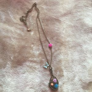 Vintage Mirror Necklace